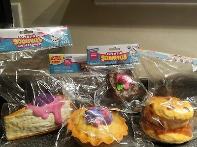 New Release! Soft'n Slo Squishies Taco Berry Pie Cookie S'More CheeseCake Jumbo](Giant Taco)