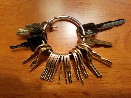 26pc Pentesting Key Set FEO K1 16120 222343 CH751 A126 HL302 CC1 C415A CUFF