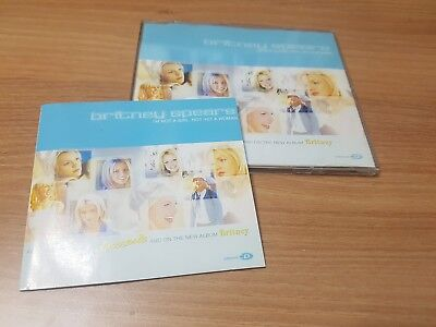 BRITNEY SPEARS I'M NOT A GIRL NOT YET A WOMAN KOREA PRESS CD 2001