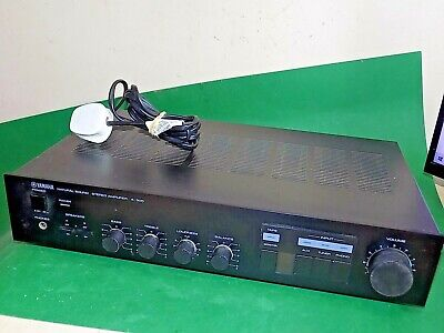 YAMAHA Natural Sound Stereo Amplifier AMP A-300 Vintage Phono Quality Unit Japan