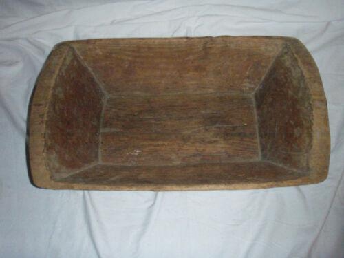 Dough bowl....antique....wooden decor....pick up only....Atlanta, Ga.