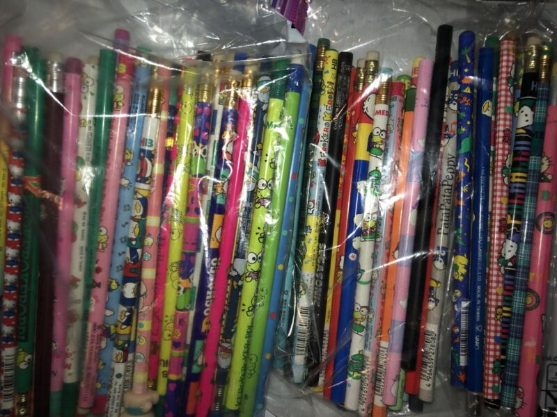 Vintage Sanrio Pencils Random Lot Of 5 90s