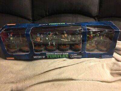 History Of Ninjas (Playmates TMNT Teenage Mutant Ninja Turtles History of Leonardo Figure)