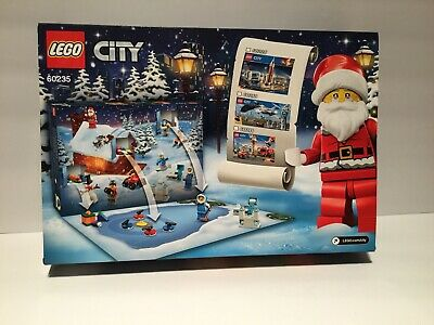 Lego 60235 Lego City Advent Calendar 60235 Building Kit New 2019 (234 Pieces)