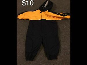 6-12 month one piece snow suit