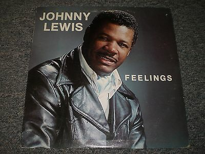 Johnny Lewis~Feelings~AUTOGRAPHED Private Label Funk / Modern Soul~Seattle, WA
