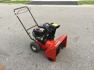 Yard Machine double stage snowblower with electric start