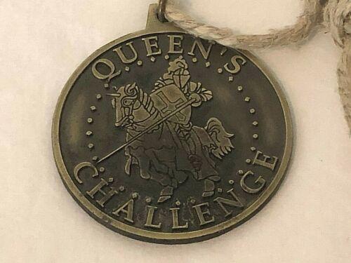 Renaissance Faire Queens Challenge Medal Medallion Knight Horse Jousting Rare