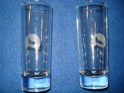 2 Stillhouse Moonshine Clear Corn Whiskey Shot Glasses Limited Ed - Replacement