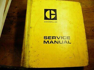 Cat Caterpillar 955l Track Loader Service Manual 8y 13x 57m