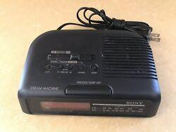Sony Dream Machine Clock Radio AM/FM Alarm Model ICF-C25