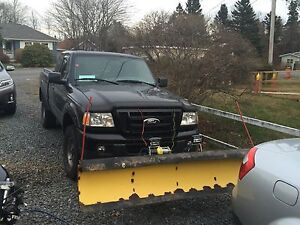2007 Ford ranger with plow