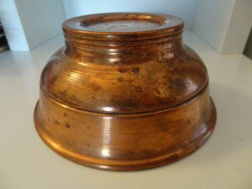 MONGOLIAN TRADITIONAL COPPER BOWL.