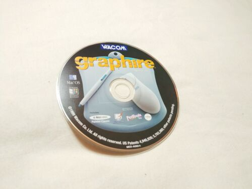Wacom Graphwire Driver Software Version 4.50 for Macintosh Systems