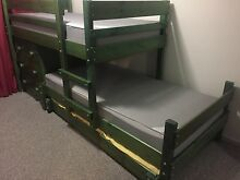 """Bunkers"" Solid piner bunk beds with trundle Craigmore Playford Area Preview"