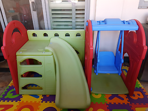 Outdoor playset - Slide swing and climbing frame East Perth Perth City Area Preview