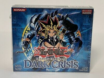 Yugioh Dark Crisis English Unlimited Booster Box 24 Packs - Factory Sealed Hobby Dark Crisis Booster Box