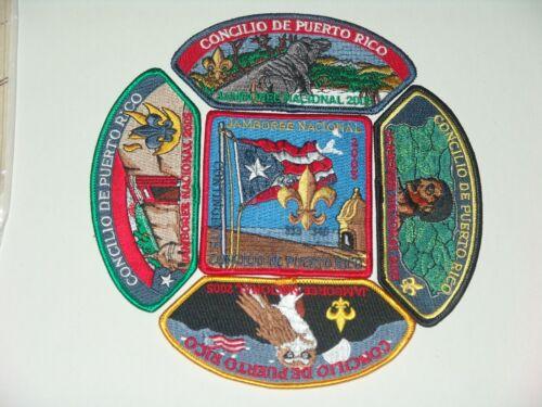 2005 National Jamboree Puerto Rico Council contingent set