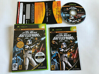 Star Wars Battlefront II (2) / Boxed With Instructions / Original Xbox game PAL