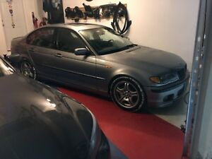 BMW E46 330i ZHP PART OUT (tires & rims)