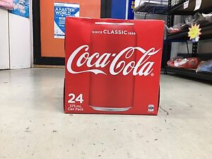 Coca-cola (24 can pack) Beaconsfield Fremantle Area Preview