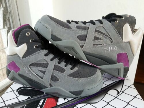 "FILA CAGE SHREDDER ""TMNT"" 2012 GRAY 1VB90030 096 MEN'S 8"