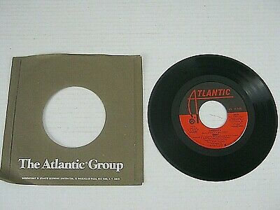 "ABBA ‎– Chiquitita / Lovelight 7"" 45 RPM Record Atlantic 3629 1979"