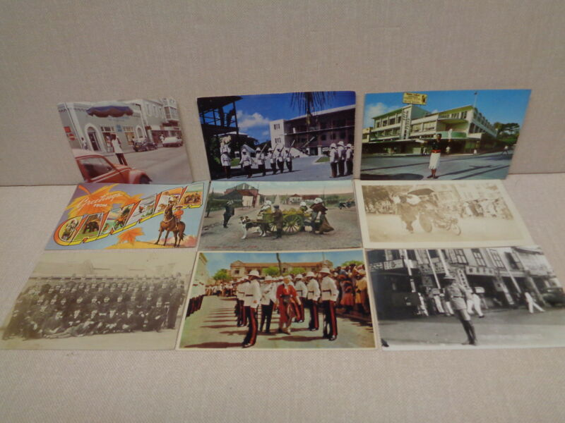 POLICE OFFICERS OF THE WORLD POST CARDS, WIDE VARIETY, ALL OLD, ONE DATED 1905 !