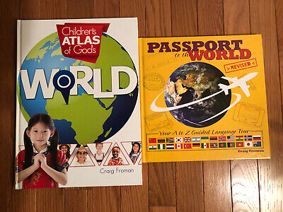 Master Books Passport To The World & Childrens Atlas of God's World 4-6th Grade