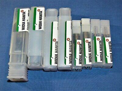 Brand New Widia Hanita Solid Carbide Varimill 8 Pcs Lot