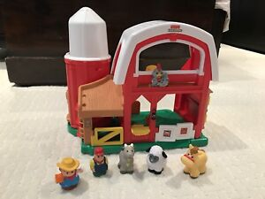 Fisher Price Farm + Airplane + School bus (3 sets)