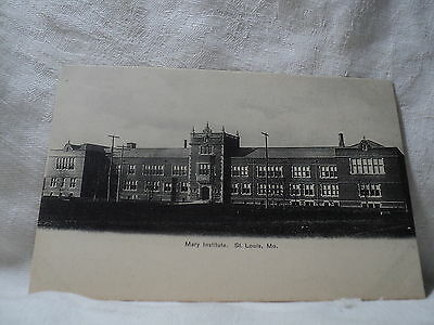 St. LOUIS MO Missouri Mary Institute early 1900's Postcard