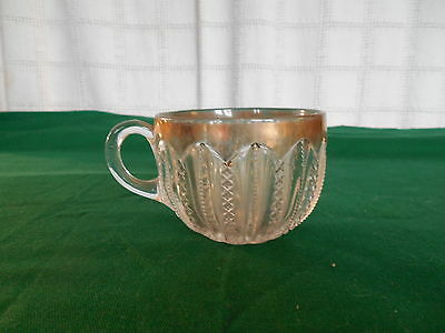 Duncan Miller Mardi Gras punch cup w/ gold accent 1894](Mardi Gras Punch)
