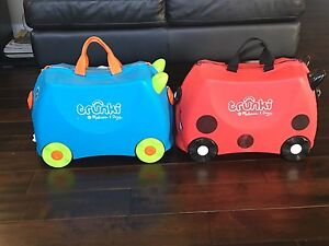 2 Trunki kids suitcases