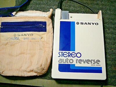 VINTAGE 1981 SANYO SPORTSTER M6060 CASSETE PLAYER