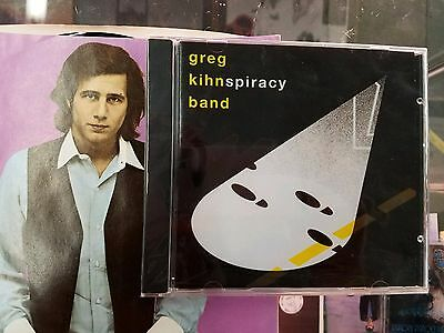 Greg Kihn Band   Kihnspiracy Cd 1983 Beserkley Factory Sealed  Rare