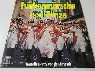 38148 - FUNKENMÄRSCHE UND -TÄNZE - VINYL LP (KAPELLE HARDY VON DEN DRIESCH)