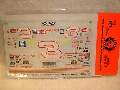 #3 Dale Earnhardt Sr 1994 GOODWRENCH CHEVY LUMINA SLIXX Decal Set