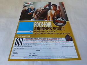 QUEENS OF THE STONE AGE - Publicité de magazine / Advert RATED R !!!!!!! - Balledent, France métropolitaine - Thme: Musique - Balledent, France métropolitaine