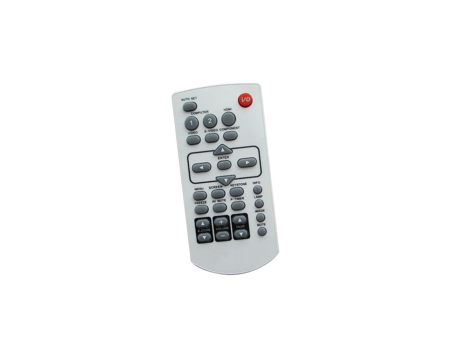Replacement Remote for PANASONIC PT-AE200U PT-AE100U PT-AE100E PT-AE2000U Projector Black