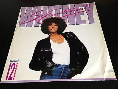 """Whitney Houston - So Emotional (3-track 12"""" Single)"""