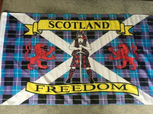 Scotland flag 155 x 90cm Ap can be mounted wallace freedom  5 .2  x 3 f