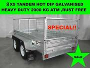 8x5 HOT DIP GALVANISED TRAILER 2000KG GVM ON SALE NOW Laverton North Wyndham Area Preview
