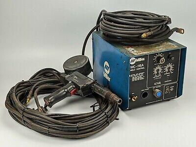 Miller Wc-115a Weld Control W Spoolmatic 30a Welding Spool Gun - 115v 2a 200a