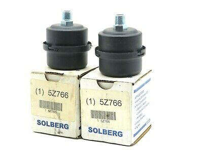 2 New Solberg 5z766 Filter Silencer