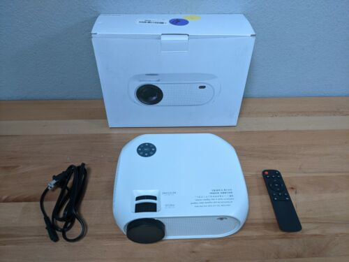 Wireless Full HD 5000 Lumens 1080P Portable Home Movie Video LED Projector HDMI
