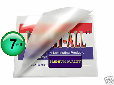 7 Mil Hot Letter Laminating Pouches 9 X 11-12 100 Clear By Lam-it-all