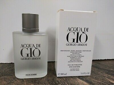 Acqua Di Gio EDT 3.4 oz  Giorgio Armani New Mens Cologne TSTR 100% Authentic
