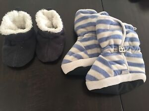 Warm winter booties size 6 month to 24 months