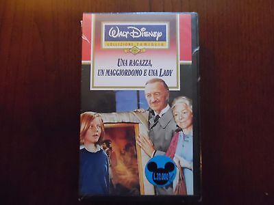 Una ragazza un maggiordomo e una lady (Jodie Foster) - VHS ed Walt Disney NUOVA